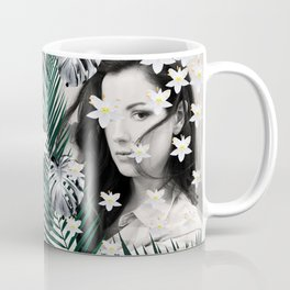Flower Girl in the Jungle #1 #tropical #art #society6 Coffee Mug