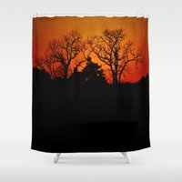 fractal Shower Curtains featuring Fractal by Beach Bum Pics