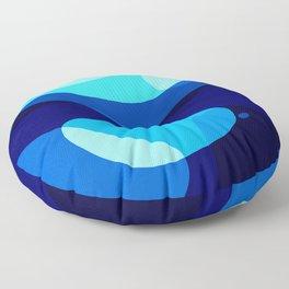 Underwater Abstract Floor Pillow