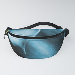 Succulent Leaves In Turquoise Color #decor #society6 #homedecor Fanny Pack