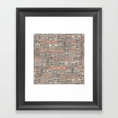 Avenue des Mode Framed Art Print