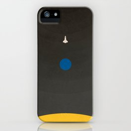 Don't Fear The Dark. Go Further. iPhone Case