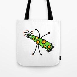 Virus Doodle Tote Bag