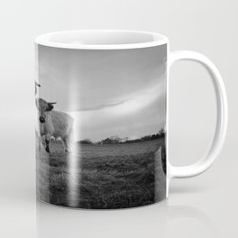 High Park Cow Mono Coffee Mug