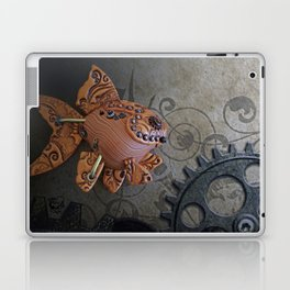 Steampunk Goldfish Laptop & iPad Skin