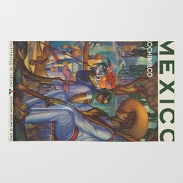 Vintage poster - Mexico Rug