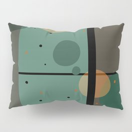 The Girl and the Moon (Pattern) Pillow Sham