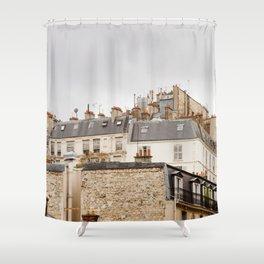A walk in Paris Shower Curtain