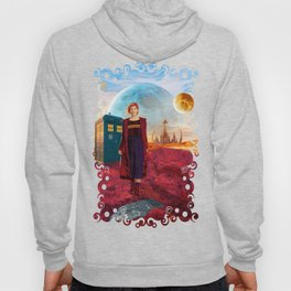 13th Doctor at Gallifrey Planet Hoody