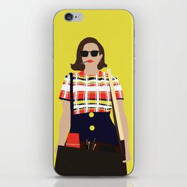 Peggy Olson Mad Men iPhone Skin