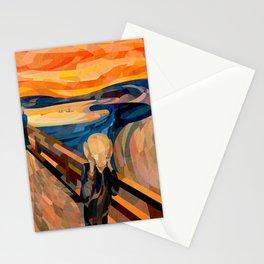 Curves - O Grito Stationery Cards