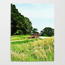 Yorktown Battlefield Poster