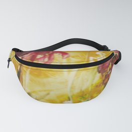 Abstract Red Poppies From Original Encaustic Art Fanny Pack