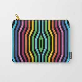 Symmetric vertical stripes background IV Carry-All Pouch