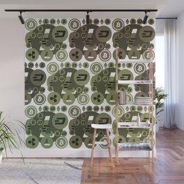 Ethereum, Bitcoin, Dash, Ripple, Litcoin Wall Mural