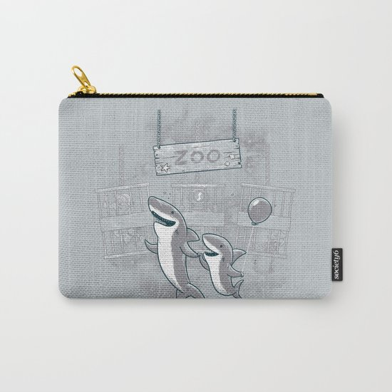 shark zoo Carry-All Pouch