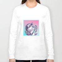 bucky Long Sleeve T-shirts featuring Bucky II by manso