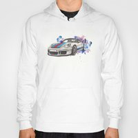 martini Hoodies featuring GT3 martini by Claeys Jelle Automotive Artwork
