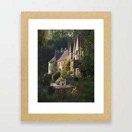 Not the manor Framed Art Print