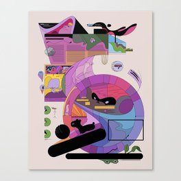 uitztztz Canvas Print