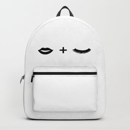 Lips + Lashes Backpack