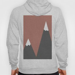 Pink Mountains Hoody
