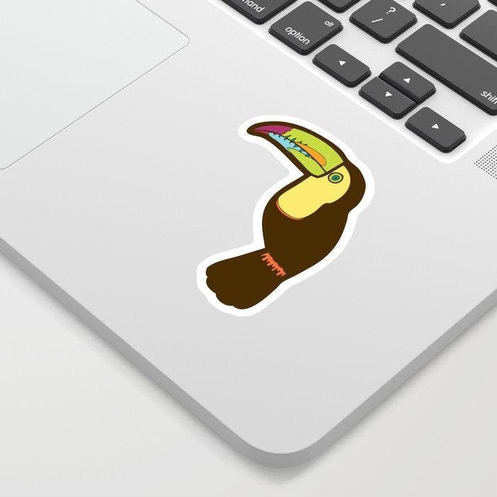 Toucan Pattern Sticker