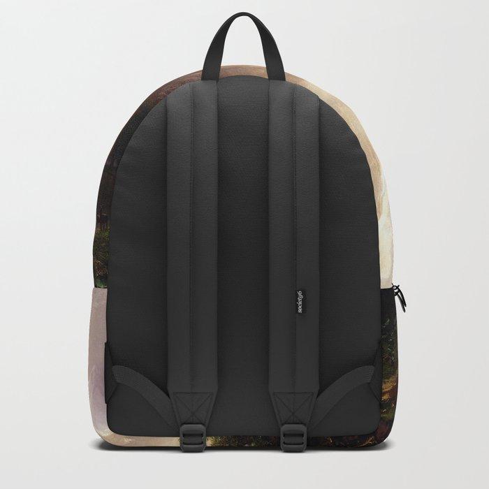 Albert Bierstadt - Among the Sierra Nevada, California Backpack