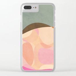 shapes study tartaruga Clear iPhone Case