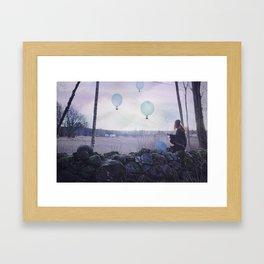 Strange things happen in these woods, II Framed Art Print