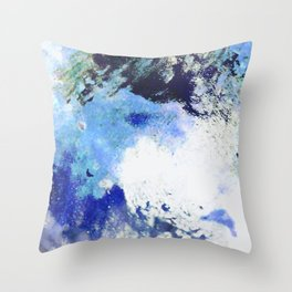 SPACKLED Throw Pillow