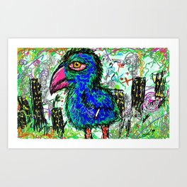 city burd. Art Print