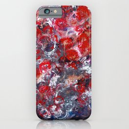 Transition of love iPhone Case