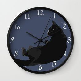 Reclined Wall Clock