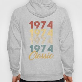 46 th Birthday Gift for Men and Women Born in 1974 Classic 46 th Birthday Party Hoody