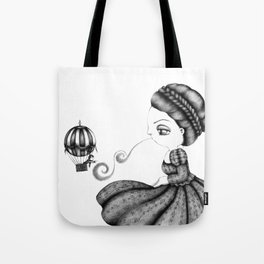 Ballooned Away Tote Bag