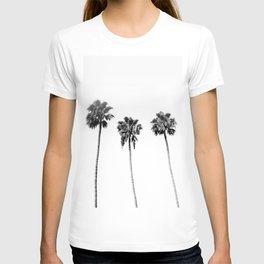 Black + White Palm Trees T-shirt