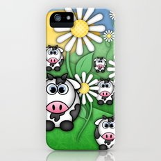 Cows & Daisies  Slim Case iPhone (5, 5s)