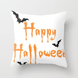 Halloween Scalable Throw Pillow