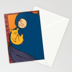 Golden Pig Stationery Cards