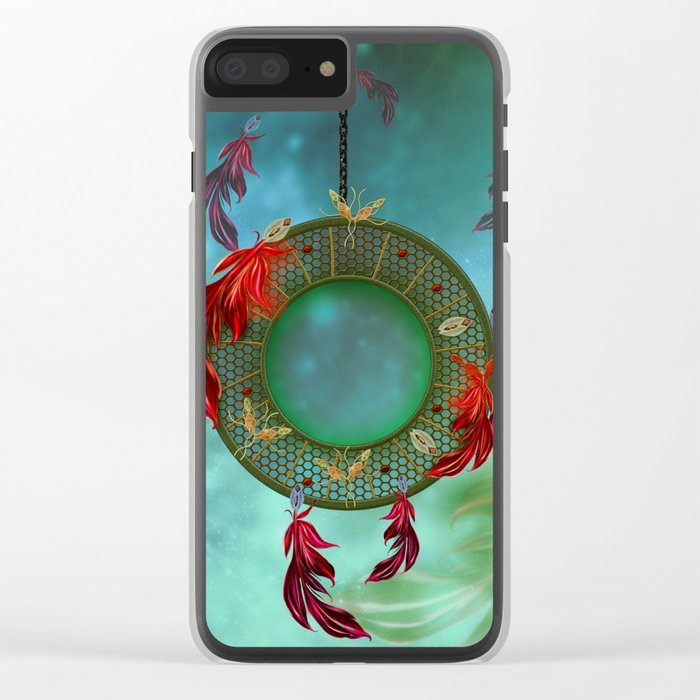 Wonderful dreamcatcher Clear iPhone Case