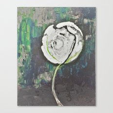 Golden Rose Acrylic Icey Green Mint Chocolate Chip Canvas Print