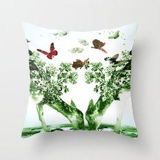 Deer-licious Throw Pillow