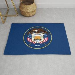 Utah State Flag Rug