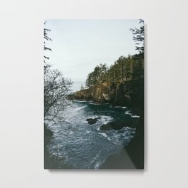pnw cliffs Metal Print