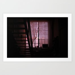 Lookit what the light did now 2 Art Print