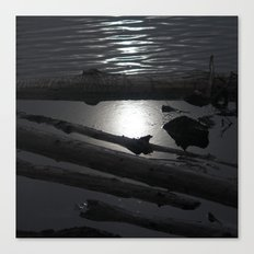 Scout Lake Under Snow and Sun Canvas Print