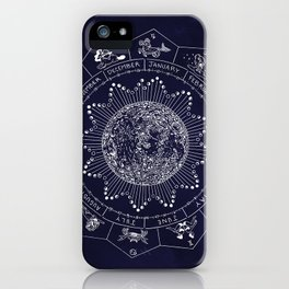Lunar Calendar 2017 iPhone Case