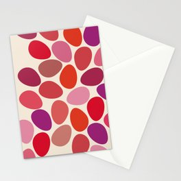 lipstick touch Stationery Cards