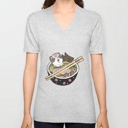 Ramen Kitty Fantasy Unisex V-Neck